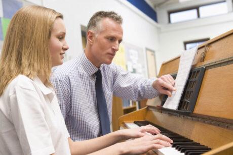 piano music lesson